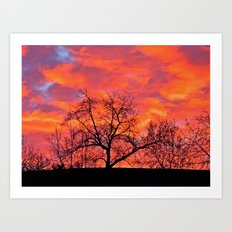 Morning to the East Art Print