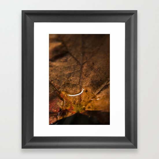 Drop Framed Art Print