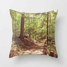 Spring Forest 2 Throw Pillow