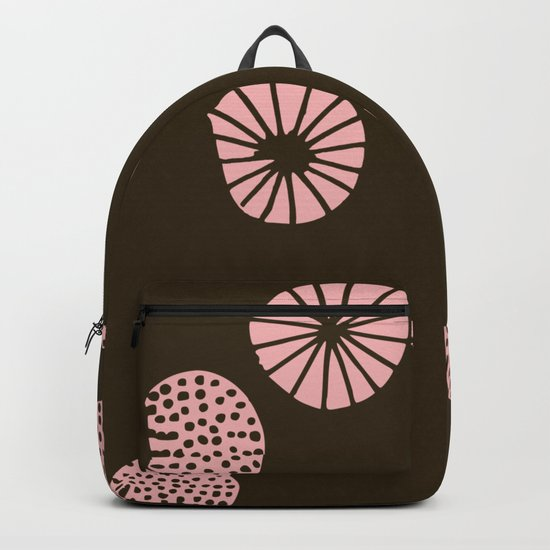 Dandelion flying brown Backpack
