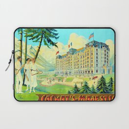 Chamonix-Mont-Blanc - Cachat's Majestic Laptop Sleeve