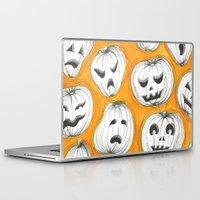 pumpkin Laptop & iPad Skins featuring Pumpkin by Saoirse Mc Dermott