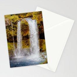 Koosah Falls Autumn Canvas Print, Photographic Print, Art Print, Framed Print, Greeting Card, iPhone Stationery Cards