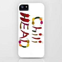 Chilihead, Chili Head - we all love chili iPhone Case