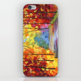 Fall On The River iPhone Skin