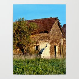 Abandoned Country Barn Poster