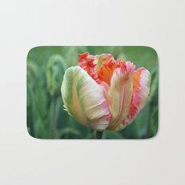 Apricot Parrot Tulip Bath Mat