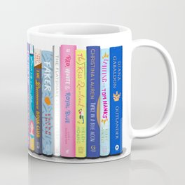 Romance Books Coffee Mug