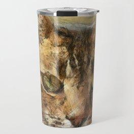 Tabby Cat Travel Mug