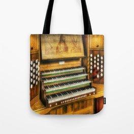 Church Organ Art Umhängetasche