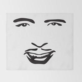 Silent Stars - Douglas Fairbanks Throw Blanket