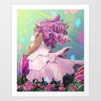 """She Chose Earth"" Art Print"