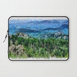 Black Hills of South Dakota Laptop Sleeve