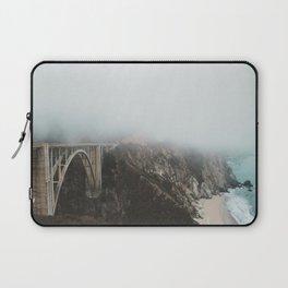 Bixby Bridge in the Fog Laptop Sleeve