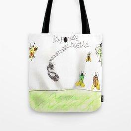 Japanese Beetle Life Cycle Tote Bag