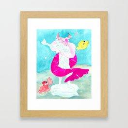 Merbull & Prince Dorian [Adoribull] Framed Art Print