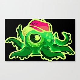 One Aye Octopus Canvas Print