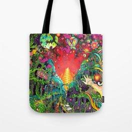 Eurydice in the Underworld (LSD) Tote Bag