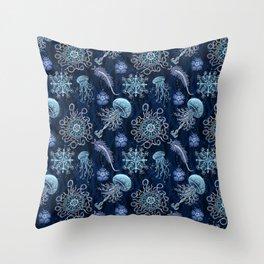 Luminocean Throw Pillow