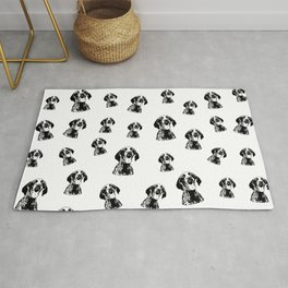 GIFTS FOR THE GERMAN POINTER SHORTHAIRED DOG LOVER,GIFTS FROM MONOFACES FOR ALL IN 2021 Rug