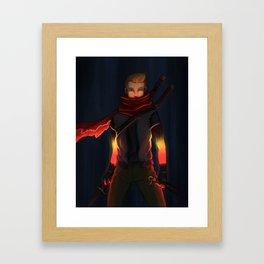 In light Framed Art Print