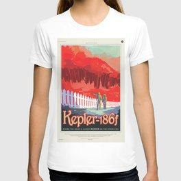 Old Sign / Nasa Kepler 186f / Visions of the future T-shirt