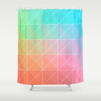 gradient Shower Curtains featuring Gradient by Fimbis