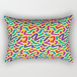 Parade of Colours Rectangular Pillow