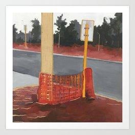 Frederick Street 1 of 3 (2014) Art Print