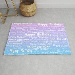 Happy Birthday! 8 Rug