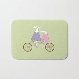 mountain biking Bath Mat