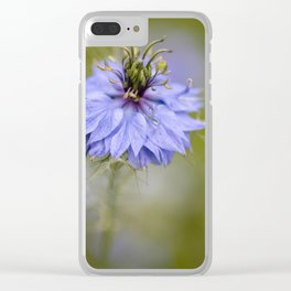 Nigella #1 Clear iPhone Case
