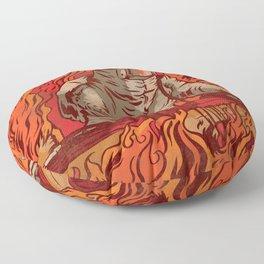 It's Lit Floor Pillow