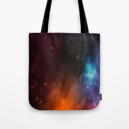 Beautiful And Graceful Universe Galaxy Space Tote Bag