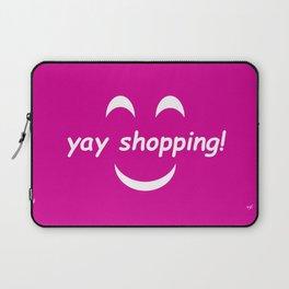 Yay Shopping! Laptop Sleeve