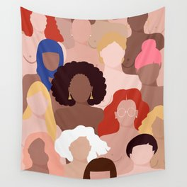 Who run the world? Wall Tapestry