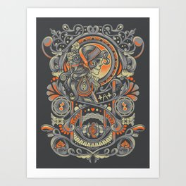 Mysctical Interlude Art Print