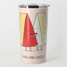 Hugs and cheeses Travel Mug
