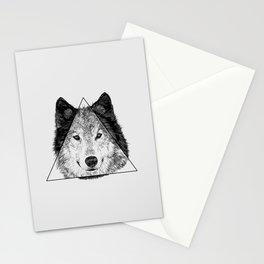 Trinity Wolf Stationery Cards