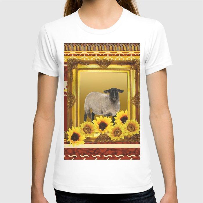 Frame Design yellow Sheep T-shirt