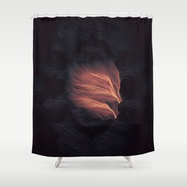 Shriek Shower Curtain
