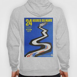 1972 Le Mans poster, car poster, race poster, t-shirt Hoody