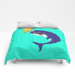 Neil the Narwhal Comforters