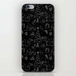 From mice and christmas- Cute X-Mas Pattern -Wild Animals-Mix and Match with Simplicity of Life iPhone Skin