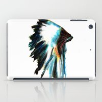headdress iPad Cases featuring Headdress by James Peart