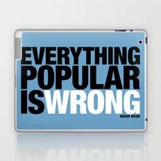Everything Popular Is Wrong Laptop & iPad Skin