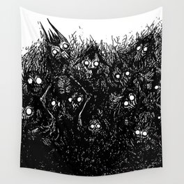 Loads of Friends Wall Tapestry