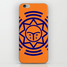 African Shield In Two Colors iPhone Skin