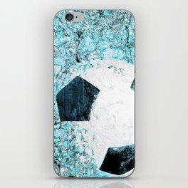 Soccer art iPhone Skin