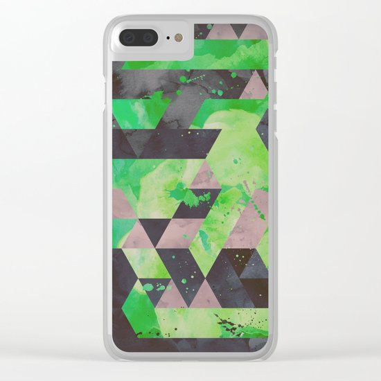 toxic hips Clear iPhone Case